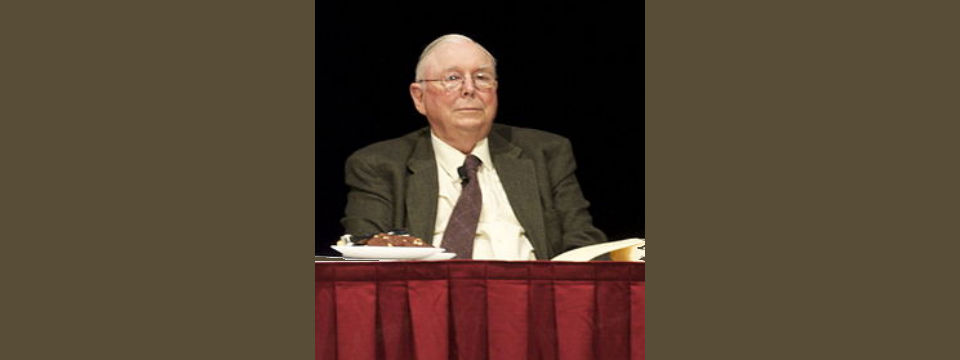 A Fireside Chat with Charlie Munger